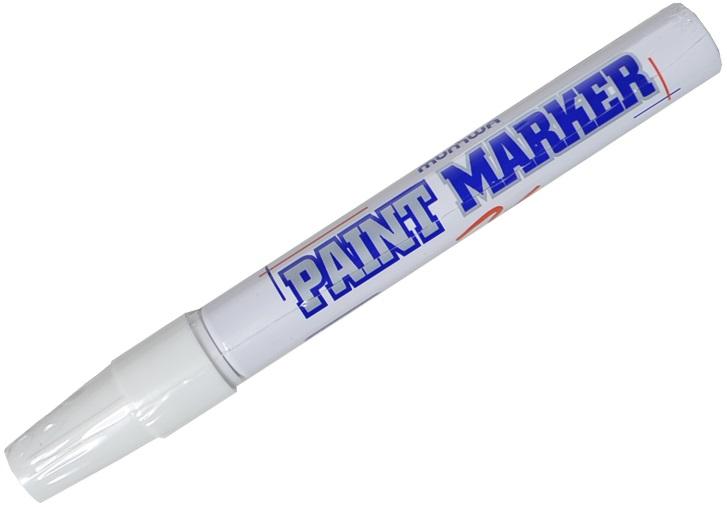 """Маркер-краска """"White"""" белый, 4мм"""