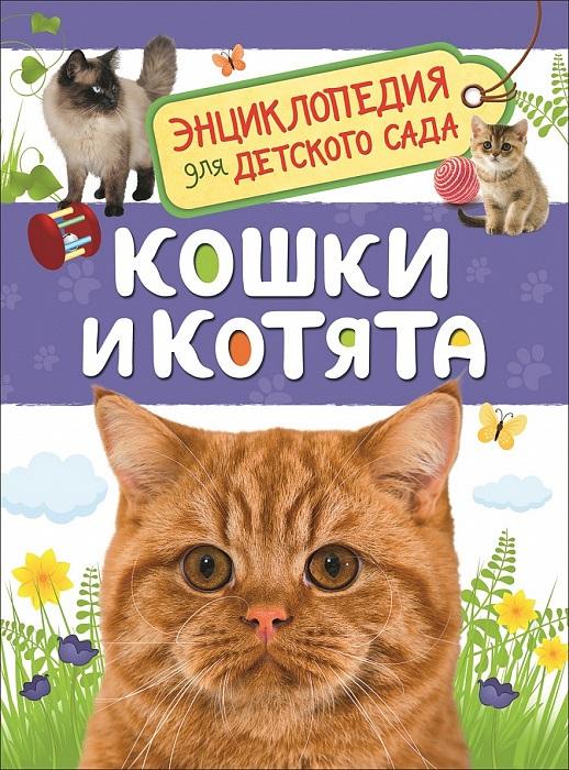 Кошки и котята. Энциклопедия для детского сада