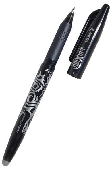 Ручка Frixion, со стирающимися чернилами, черная, Pilot