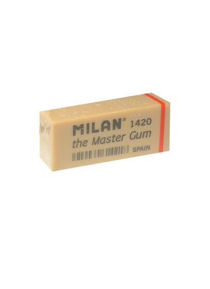 "Ластик ""Master Gum 1420"" 5.5*2.3*1.3мм, прямоуг., Milan"