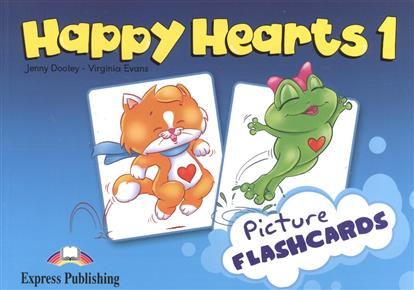 Evans V., Dooley J. Happy Hearts 1. Picture Flashcards evans v welcome aboard 3 picture flashcards beginner раздаточный материал page 9