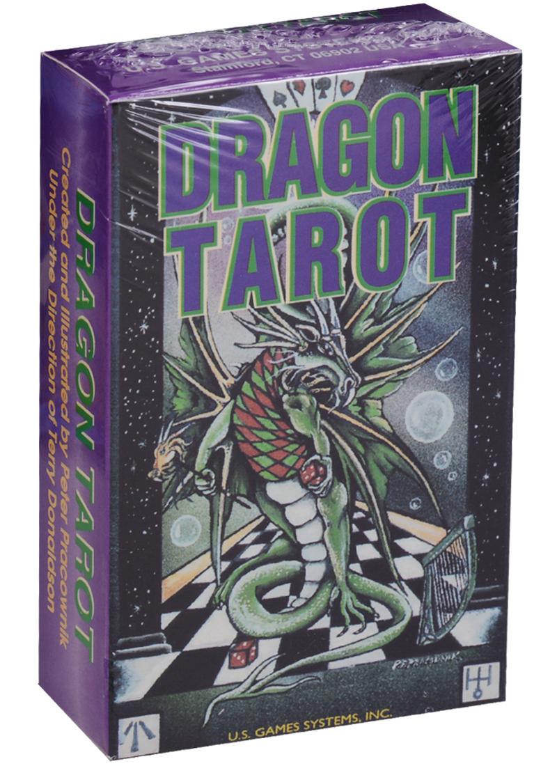 Pracownik P. Dragon Tarot / Таро Дракона (карты + инструкция на английском языке) магические послания богинь 44 карты инструкция