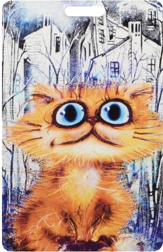 """Чехол для карточек """"Cat in the City: В своем городе"""""""