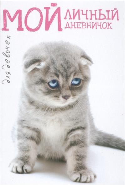 Мой личный дневничок для девочек (Котик грустный)