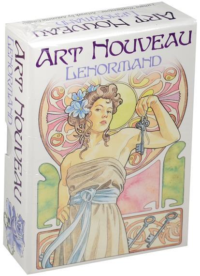 Weatherstone L. Art Nouveau Lenormand tarot art nouveau таро галерея в футляре улучшенная твердая бумага