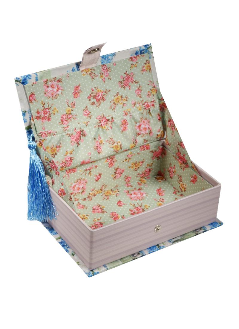Шкатулка-книга с кисточкой текстиль Для тебя (17х11х5) (40935)