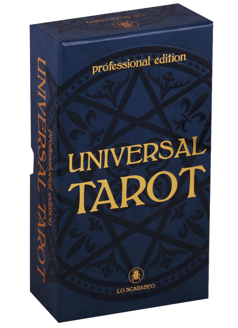 Angelis R. Universal Tarot. Professional Edition. 78 карт + инструкция tuan l witchy tarot 78 карт