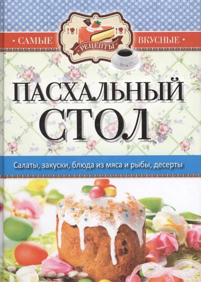 Пасхальный стол. Салаты, закуски, блюда из мяса и рыбы, десерты