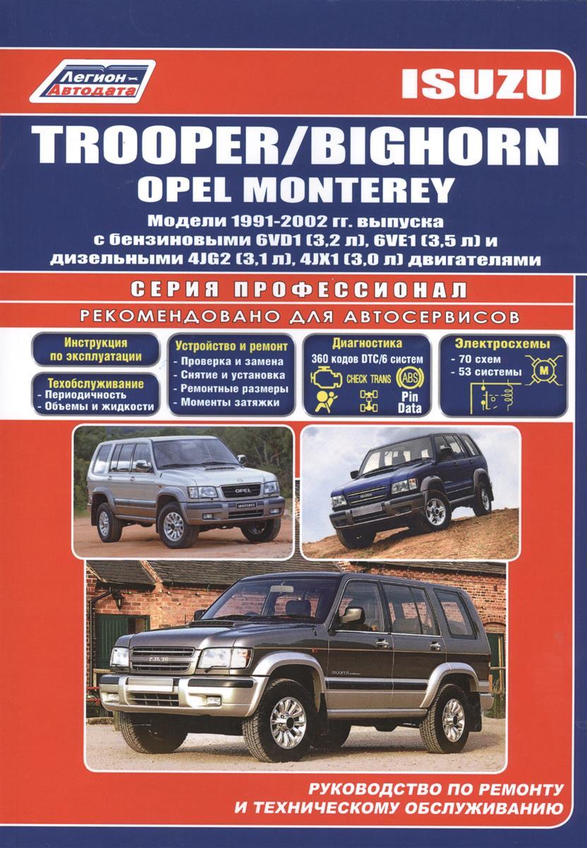 Isuzu Trooper/Bighorn Opel Monterey 1991-2002 с бенз. двиг. двигатель 4jb1t isuzu elf