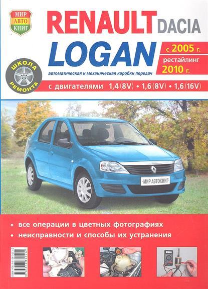 Шульгин А. (ред.) Автомобили Renault / Dacia Logan