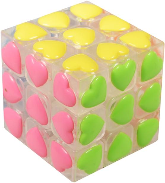 """Головоломка Кубик с рельефными гранями """"Сердце"""""""