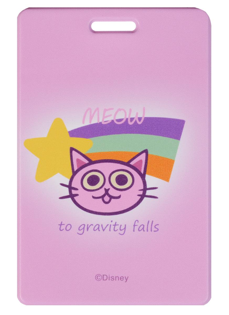 Гравити Фолз Чехол для карточек Кошечка (ПВХ)
