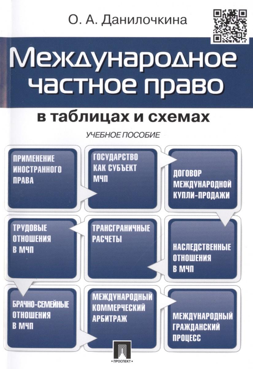 Данилочкина О. Международное частное право в таблицах и схемах: Учебное пособие ISBN: 9785392188420 авторское право в схемах учебное пособие