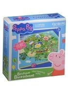Настольная игра Веселые выходные (+мини-пазл/20 элементов) (Peppa Pig) (3+)