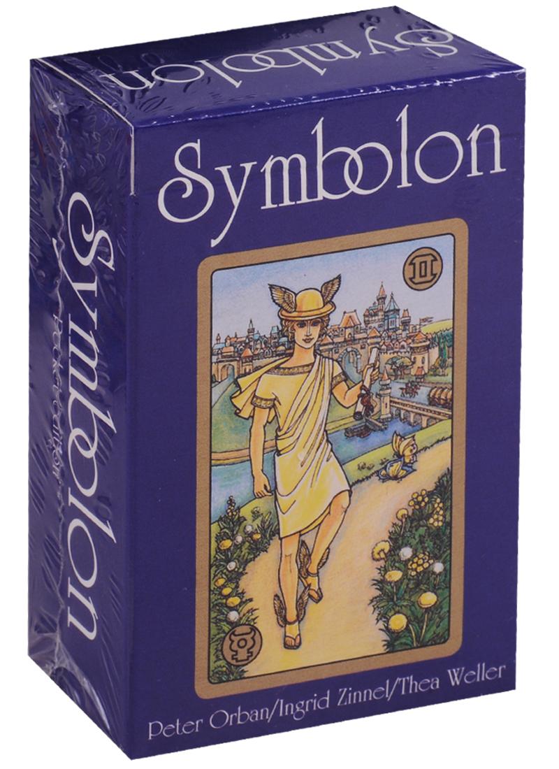 Zinnel I., Orban P., Weller T. Pocket Symbolon (карты + инструкция на английском языке) магические послания богинь 44 карты инструкция