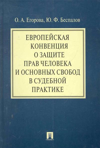 Европейская конвенция о защите прав человека... в судебной практике