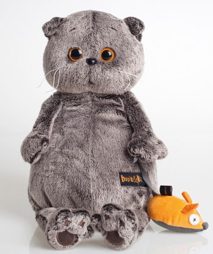 Мягкая игрушка Басик и мышка (22 см) (Ks22-004)
