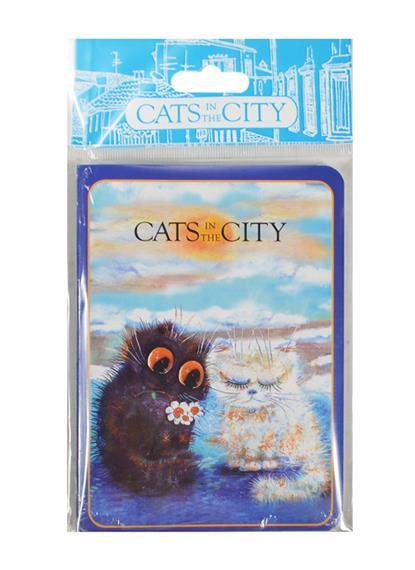 Записная книжка Cats in the City (Давай мириться) (ЗК2015-11)