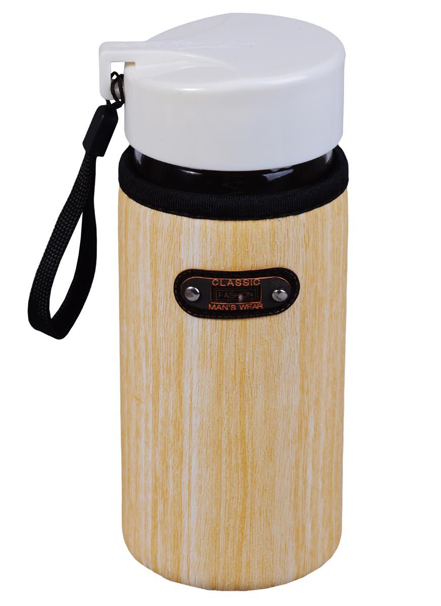 Бутылка в чехле под дерево Sport (стекло) (400мл)