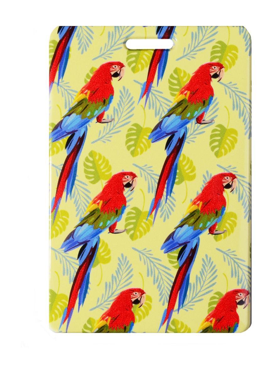 Чехол для карточек Попугаи