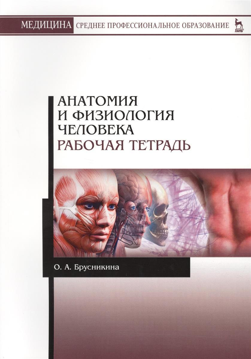 Брусникина О. Анатомия и физиология человека. Рабочая тетрадь