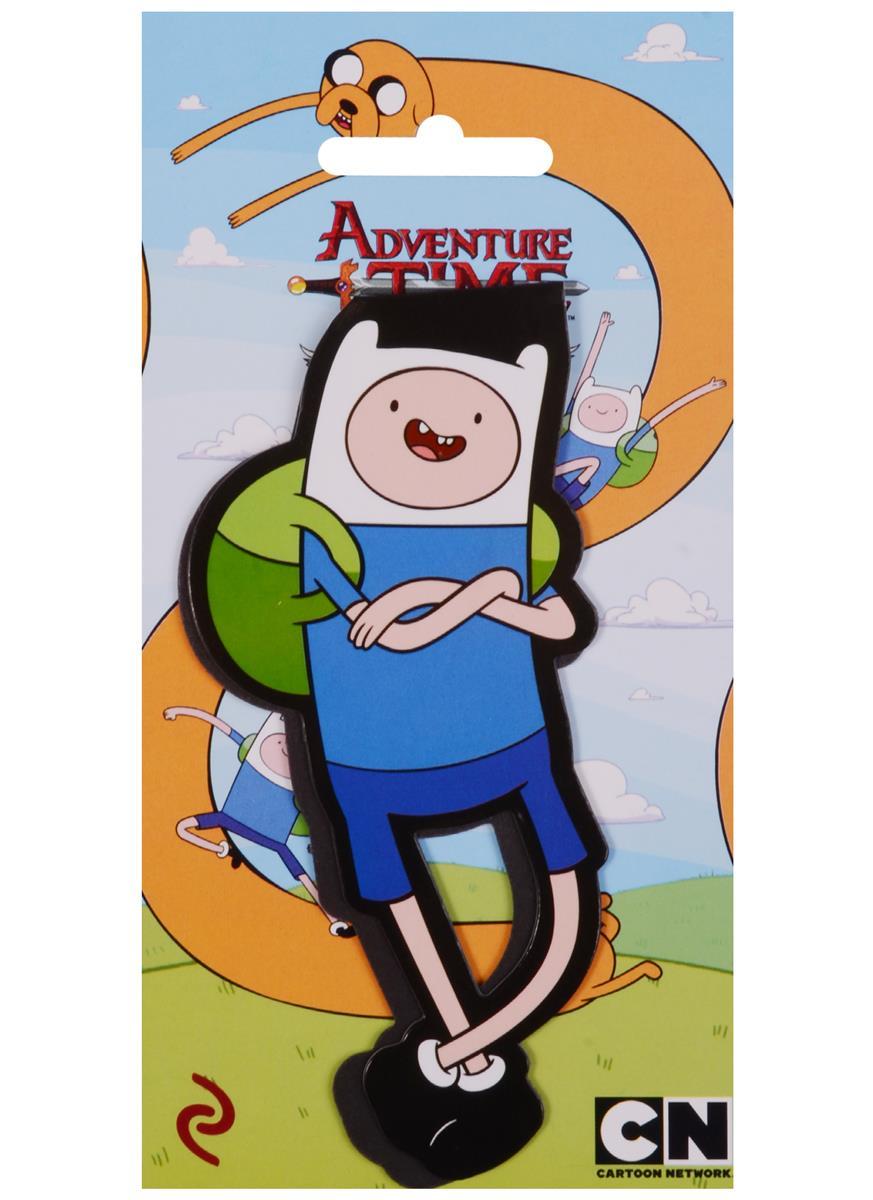 Adventure time Закладка фигурная Финн