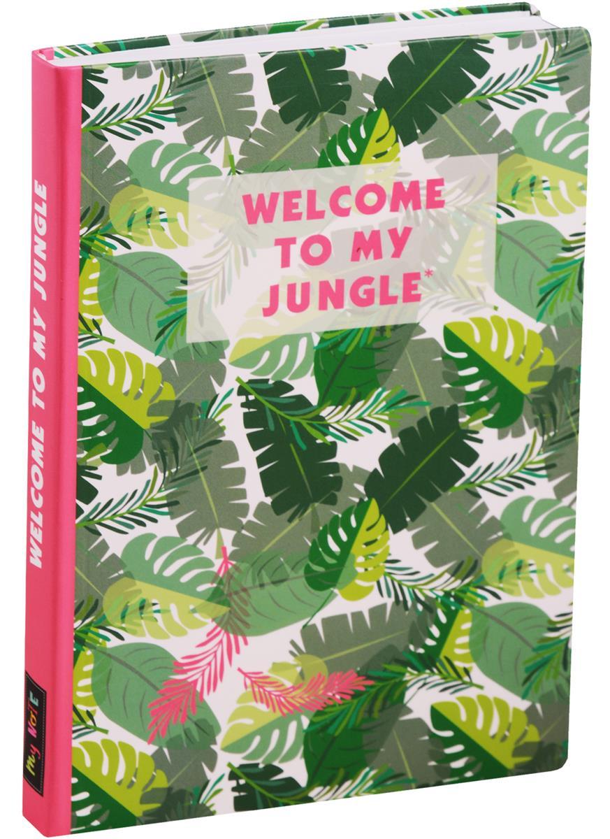 Блокнот Welcome to my Jungle