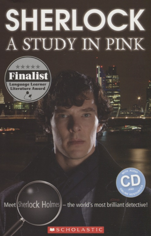 Shipton P. Sherlock. A Study in Pink Level 4 (+2CD)