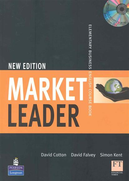 Cotton D., Falvey D., Kent S. Market Leader New Edition Elementary Course Book language leader elementary coursebook cd rom