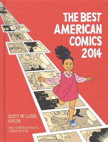 McCloud S. The Best American Comics 2014 2014 best quality mochila frozen for the new semester free shipping