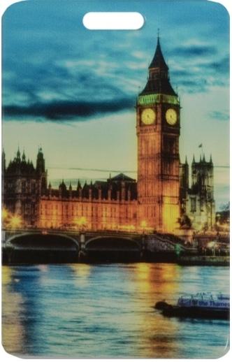 """Чехол для карточек """"London: Вечерний город"""""""