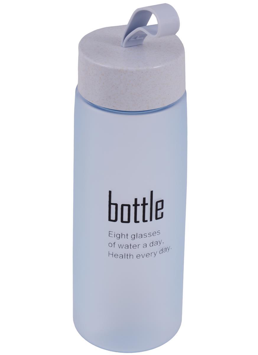 Бутылка Bottle матовая цветная (пластик) (520мл)