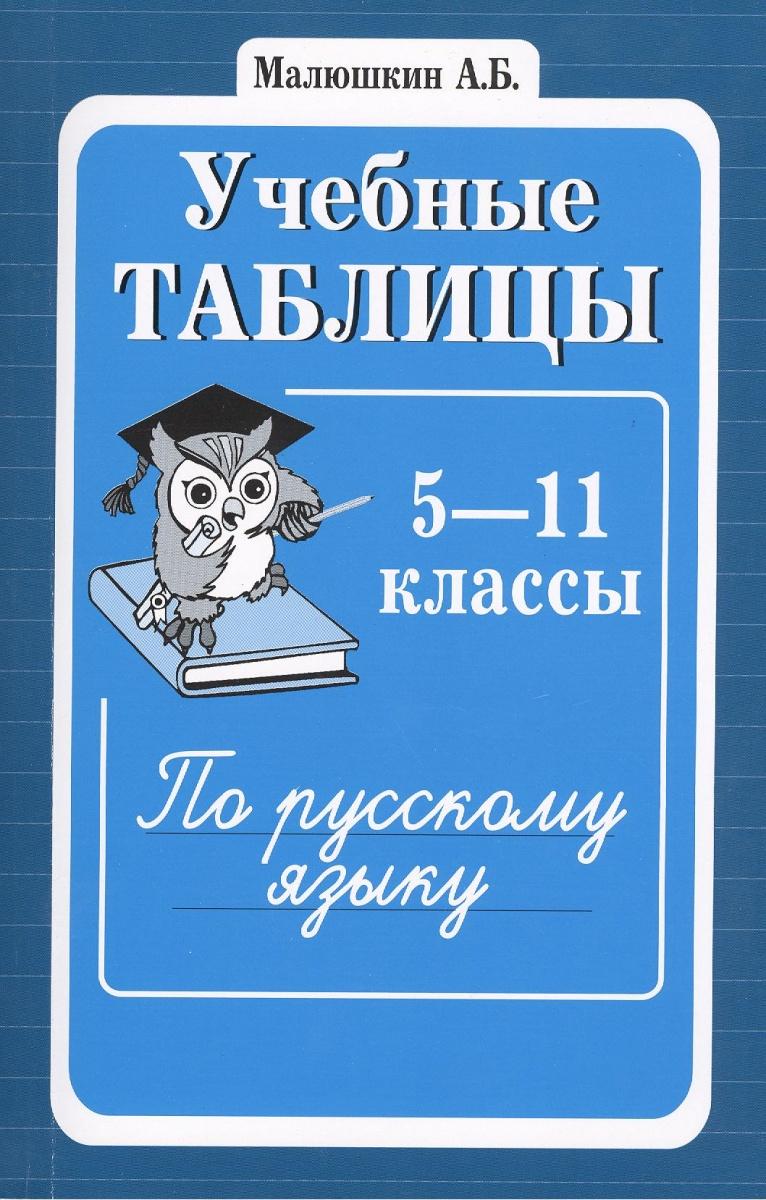 Малюшкин А. (сост.) Учебные таблицы по русскому языку. 5-11 классы. Второе издание