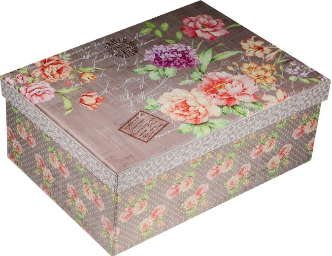 """Коробка подарочная """"Цветочное послание"""" 21*15*8,5см"""
