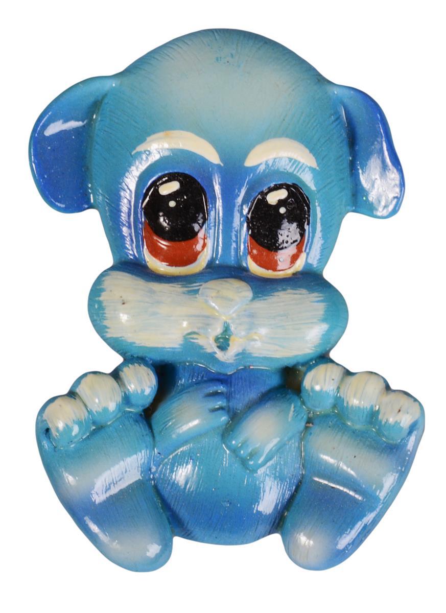 Керамический магнит Голубой щенок M-088 (Минимилли)