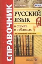 Русский язык в схемах и таблица для школьников и выпускников.Справочник
