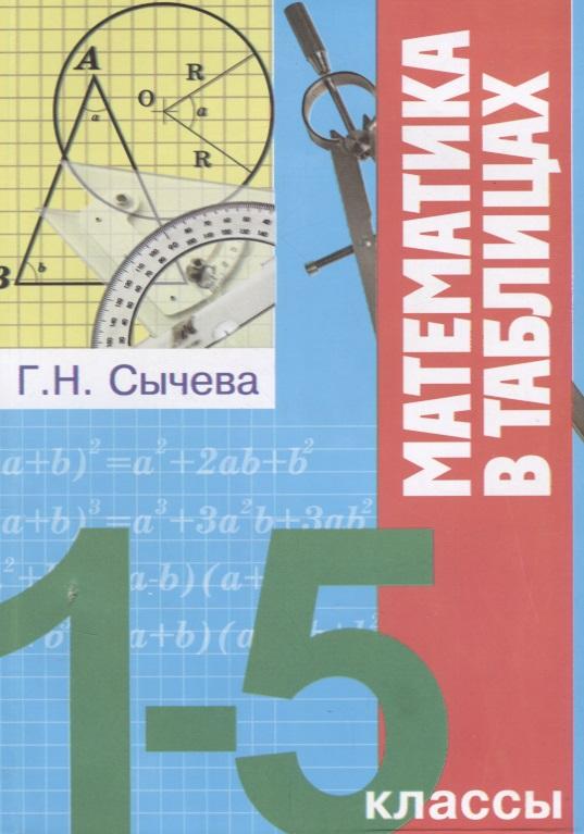 цены Сычева Г. Математика в таблицах. 1-5 классы