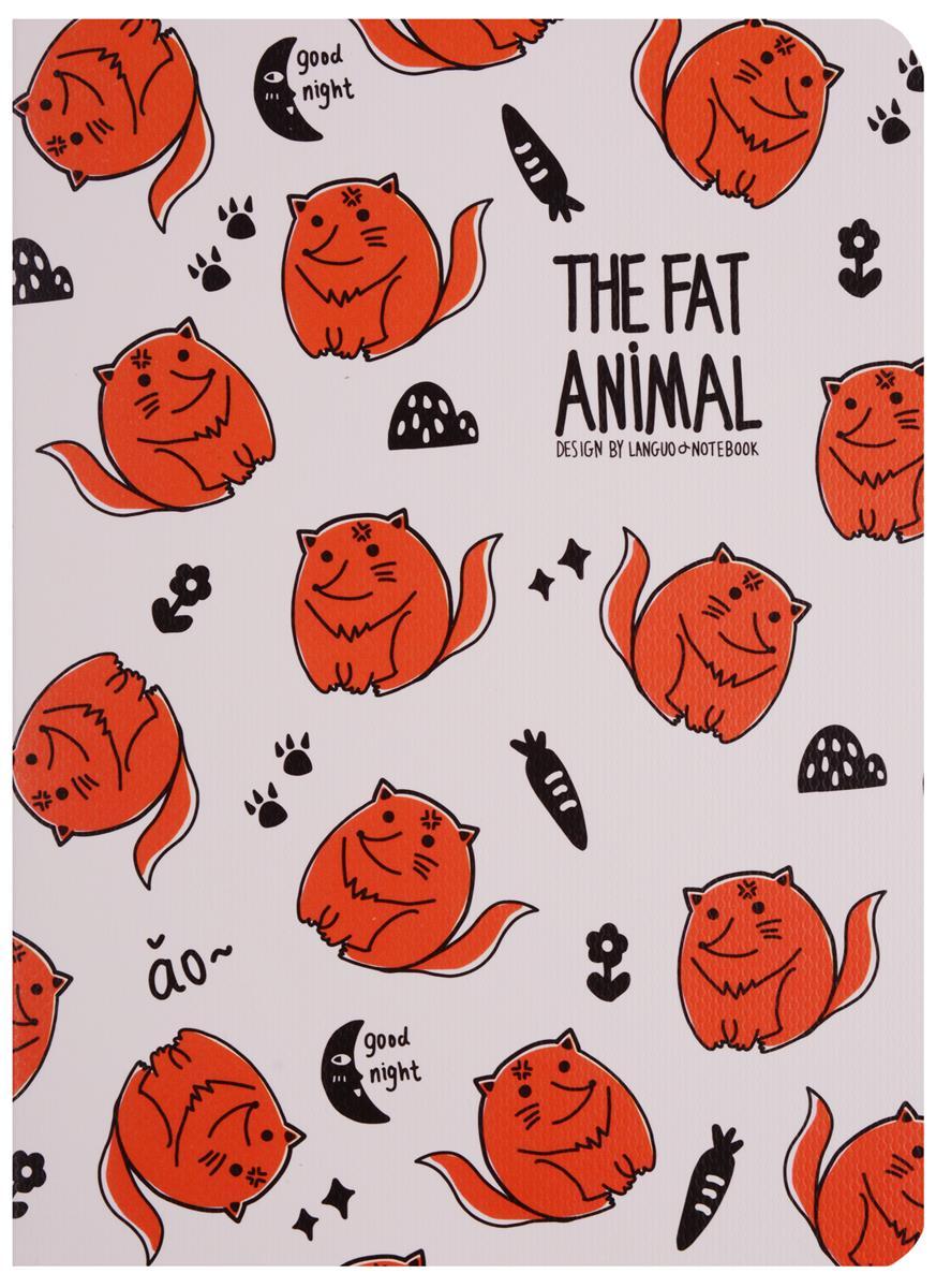 """Записная книжка """"Fat animals"""" А6"""