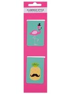 Магнитные закладки Flamingo style (2 шт)