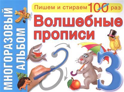 Серебрякова О. (худ.) Волшебные прописи. Многоразовый альбом ISBN: 9785445102694