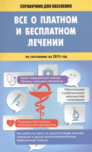 Все о платном и бесплатном лечении по состоянию на 2015 год