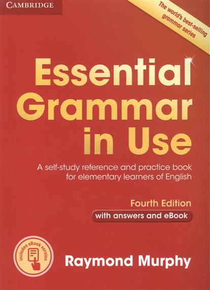 Murphy R. Essential Grammar in Use. A self-study reference and practice book for elementary learners of English. Fourth Edition with answers and eBook yoga sprout комплект боди штанишки синий