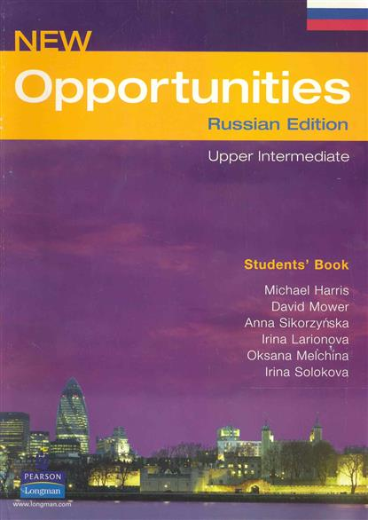New Opportunities Upper Intermediate Sts' Bk