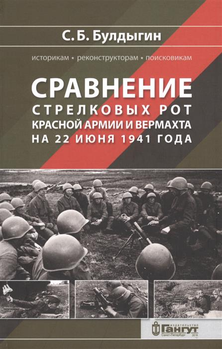 Булдыгин С. Сравнение стрелковых рот Красной армии и Вермахта на 22 июня 1941 года