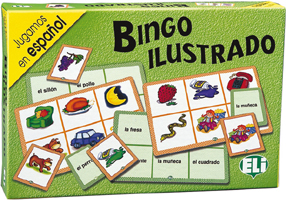 Games: [A1-A2]: Bingo Ilustrado ISBN: 9788881483082 vocabulario elemental a1 a2 2cd