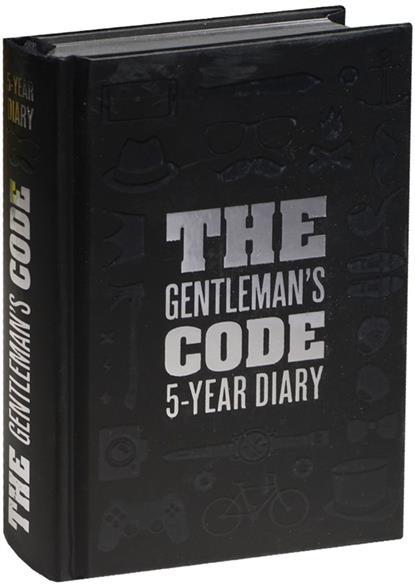 Пятибук The Gentleman's Code. 5-Year Diary
