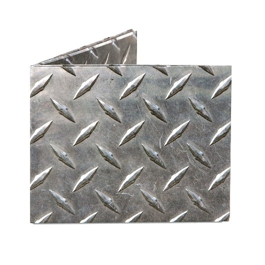 Бумажник DYNOMIGHTY MIGHTY WALLET - Diamond Plate (00000001064) (DD.DY-599) (Эколофт)