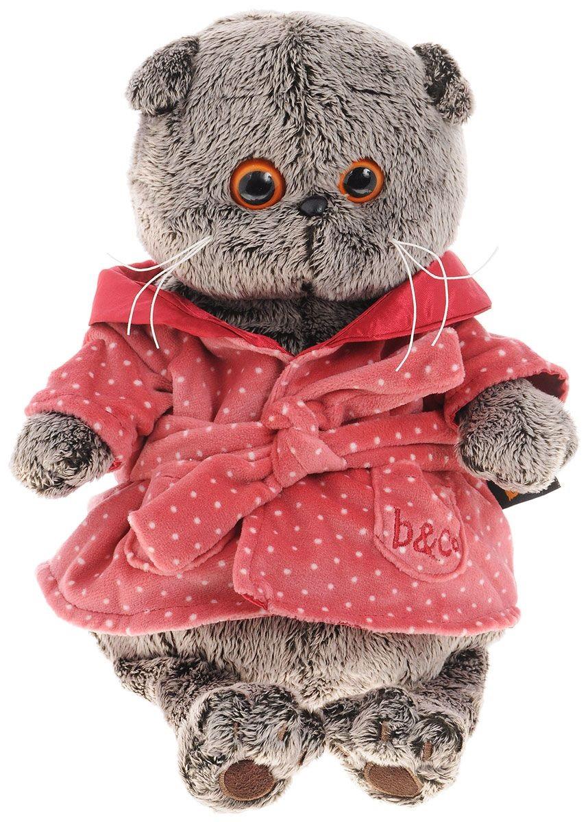 Мягкая игрушка Басик в халате (25 см) (Ks25-026 )