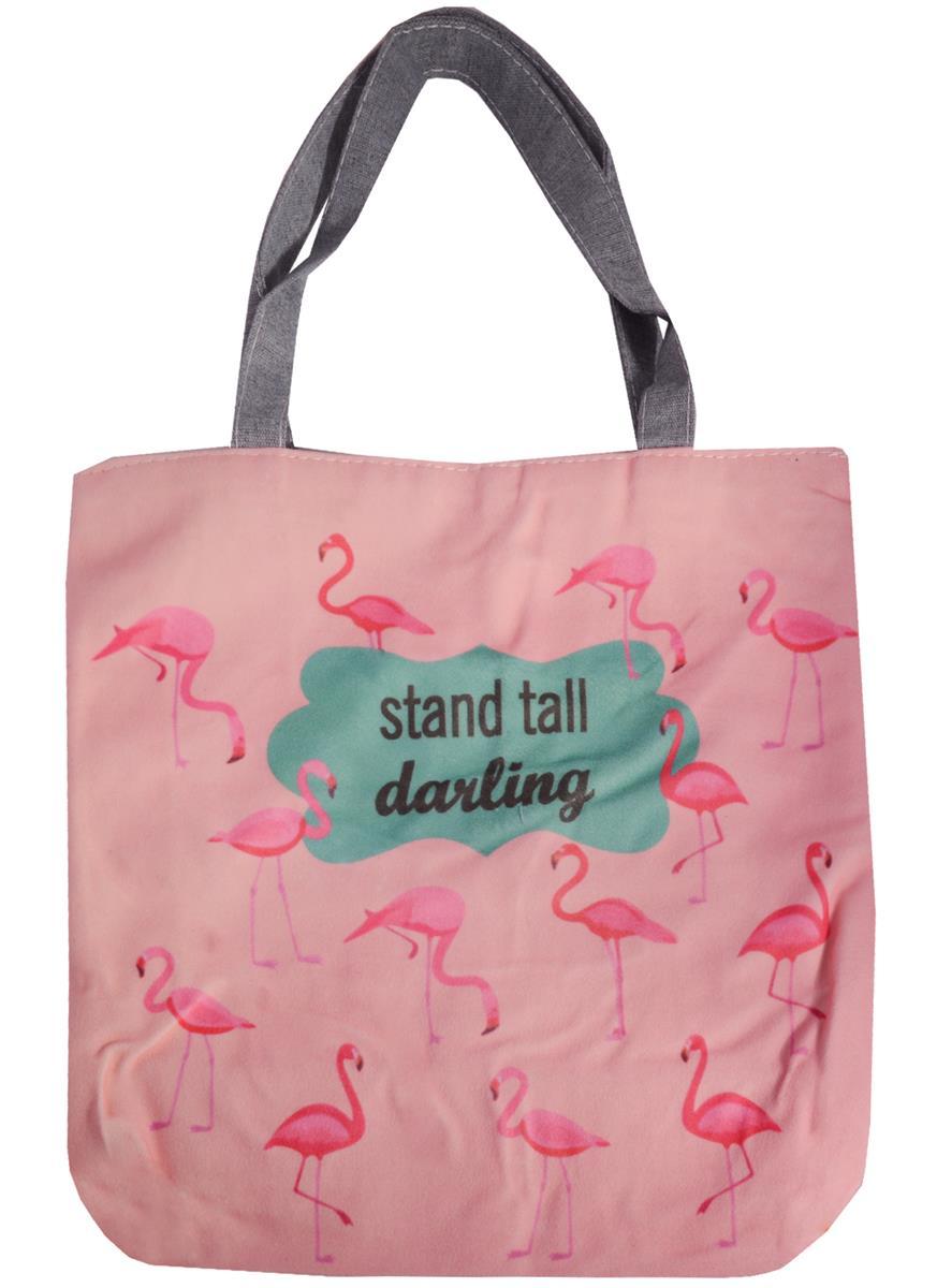 "Сумка на молнии ""Stand tall darling"""