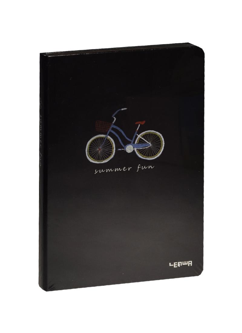 Блокнот А5 Велосипед Summer fun (золотой обрез) (192стр)